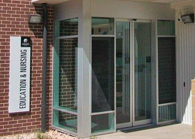 Education Building, Fresh Air Stimulates Minds, Australia