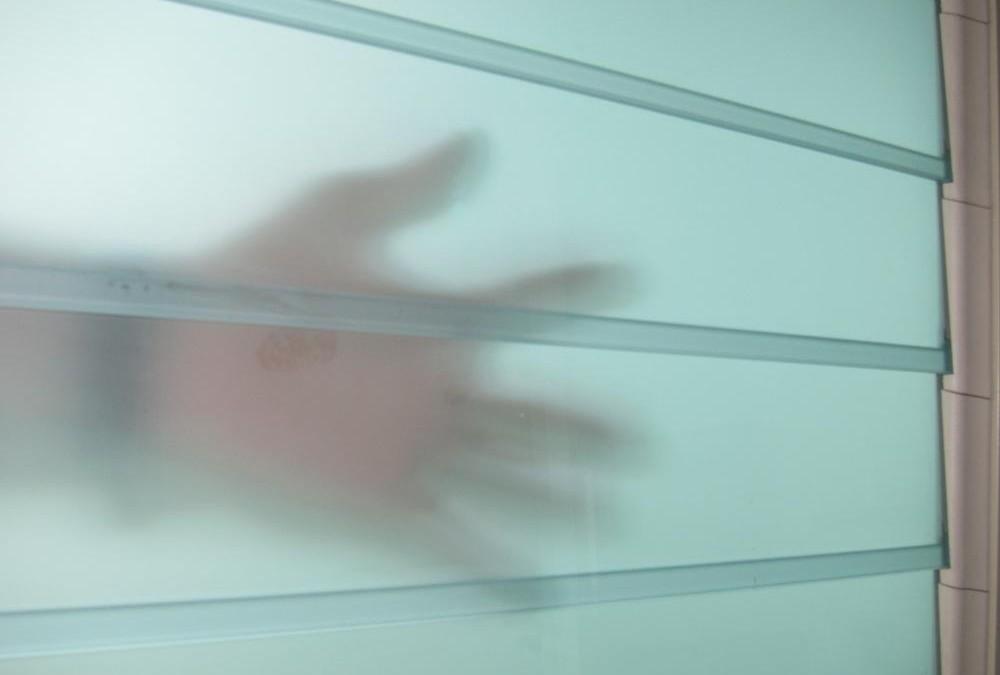 Obscure Glass Louvre Window Blades