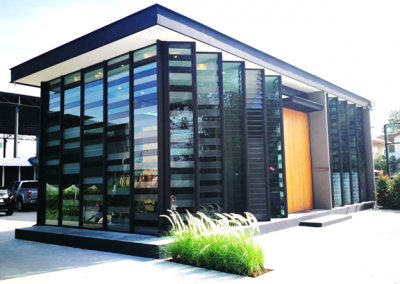 New Office Facilities for Zimplex Thailand using Breezway Louvres