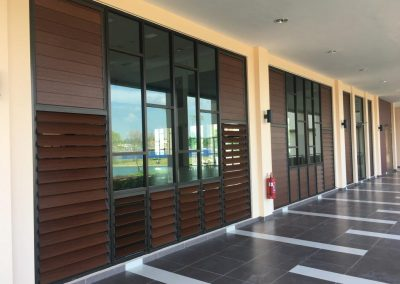 Fresh and Modern Melia Residence Club House Featuring Breezway Louvres