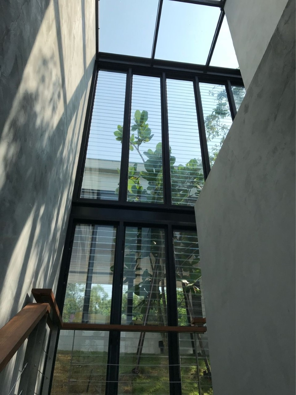 Walls of Breezway Louvres bring natural light into a home